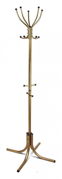 Вешалка напольная Мебелик Вешалка-стойка М-10 золото мебелик м 10