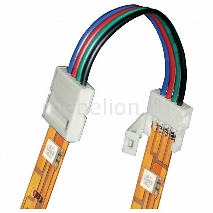 Соединитель лент гибкий Uniel [10 мм, RGB] 06613 контроллер для светодиодных лент 12 24в 2 4 ггц 11105 uniel ulc g10 rgb black