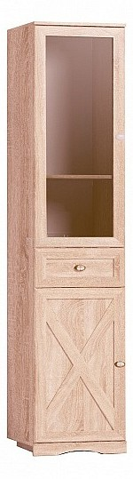 Шкаф комбинированный Глазов-Мебель Adele 82