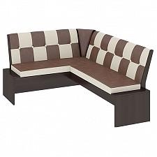 Уголок кухонный Мебель Трия Диван Кантри Т1 исп.3 венге/темно-коричневый