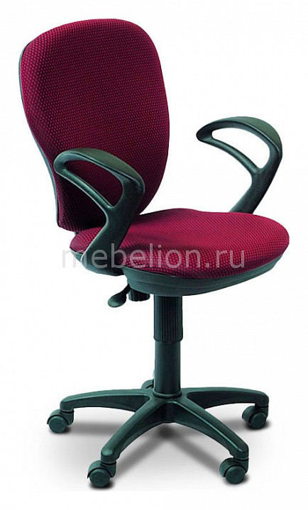 Кресло компьютерное Бюрократ Бюрократ CH-513AXN бордовое бюрократ офисное ch 513axn черное