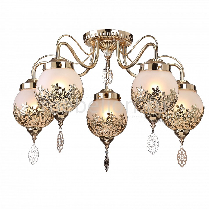 Потолочная люстра Arte Lamp Moroccana A4552PL-5GO arte lamp потолочная люстра arte lamp moroccana a4552pl 5go