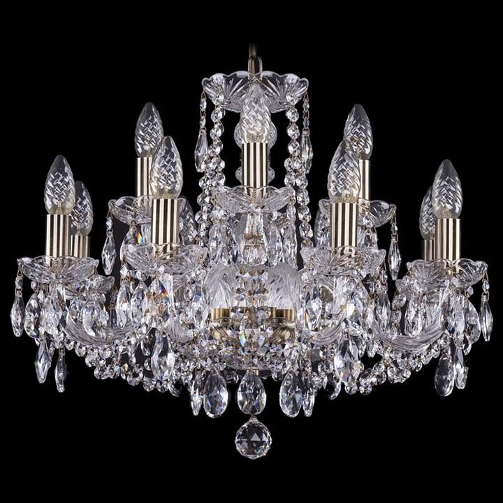 Подвесная люстра Bohemia Ivele Crystal 1402/8/195/Pa 1402