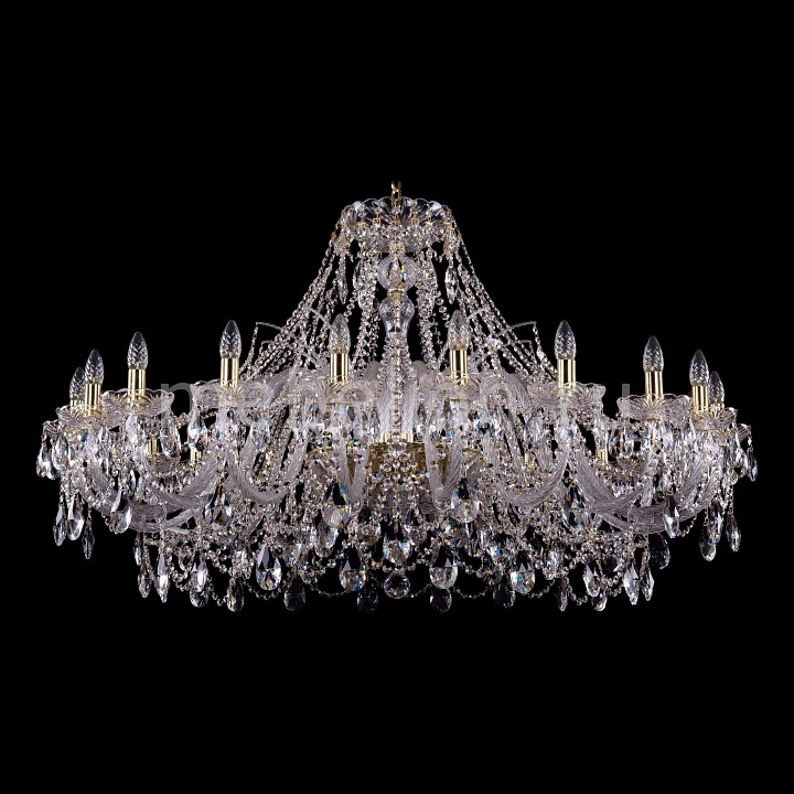 Подвесная люстра Bohemia Ivele Crystal 1411/20/460-80/G 1411