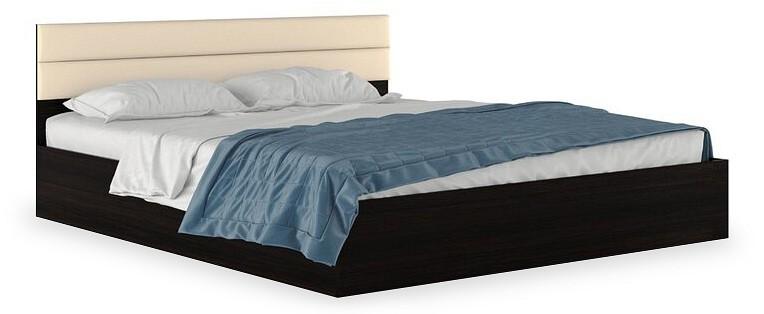 Кровать двуспальная Наша мебель Виктория-МБ с матрасом 2000х1800 кровати двуспальные belabedding кровать двуспальная с матрасом уэльс 2000x1800