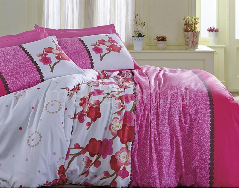 Комплект евростандарт Тет-а-Тет Сакура 4 комплект сакура розовый размер 1 5 спальный