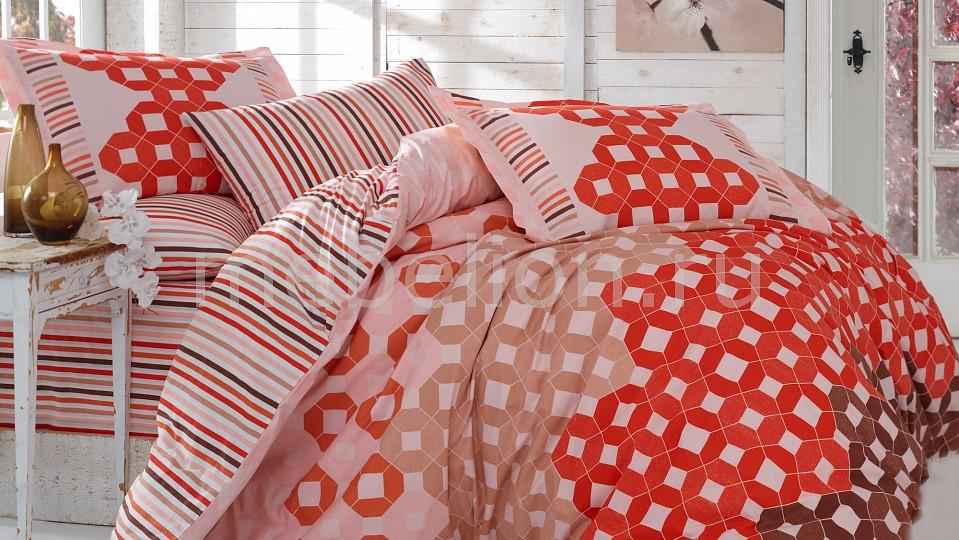 Комплект двуспальный HOBBY Home Collection MARSELLA gangxun розовый красный l