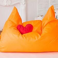 Кресло-мешок Подушка оранжевое