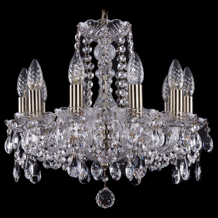 Подвесная люстра Bohemia Ivele Crystal 1402/10/141/Pa 1402