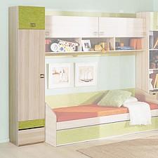Шкаф для белья Киви ПМ-139.06 ясень коимбра/панареа