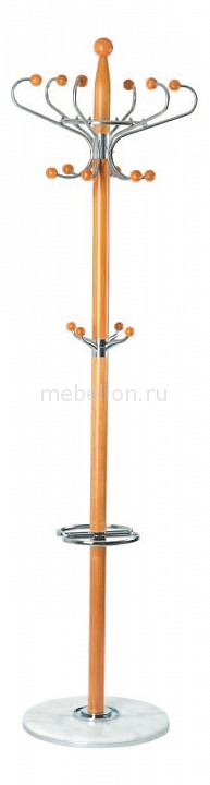 Вешалка-стойка XY-018 бежевый/хром