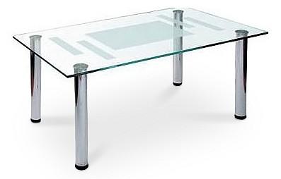 Стол журнальный Мебелик Робер 10М металлик