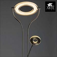 Торшер с подсветкой Arte Lamp A5904PN-2SS Duetto led