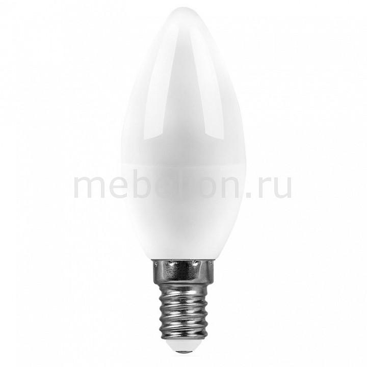 Лампа светодиодная [поставляется по 10 штук] Feron Лампа светодиодная E14 220В 9Вт 2700 K SBC3709 55078 [поставляется по 10 штук] лампа светодиодная feron sbg4509 e27 9вт 220в 2700 k 55082