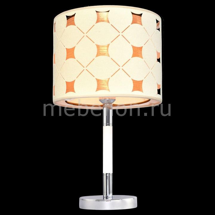 Купить Настольная лампа декоративная 6502 5-6502-1-CR+WH E27, Максисвет, Россия