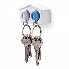 Ключница (6.3х4 см) Qualy QL10185WH-WH-BU