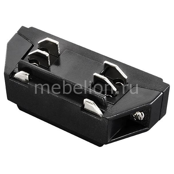 Купить Соединитель Barra 504107, Lightstar, Италия, черный, металл, полимер