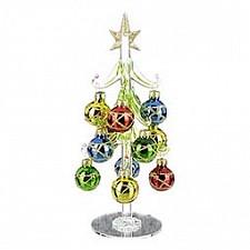 Ель новогодняя с елочными шарами АРТИ-М (20 см) ART 594-035