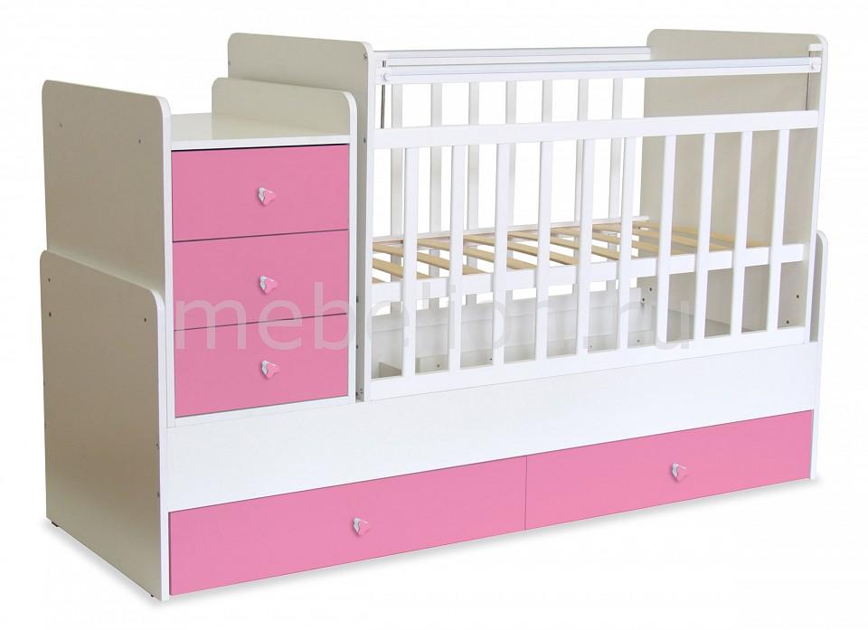 Кроватка-трансформер Фея 1100  пылесос пуфик