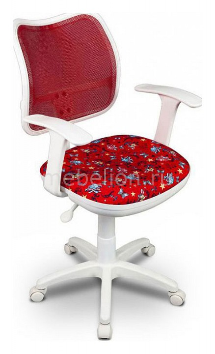 Кресло компьютерное Бюрократ CH-W797/RD/ANCHOR-RD кресло детское бюрократ ch w513axn anchor rd красный якоря anchor rd пластик белый