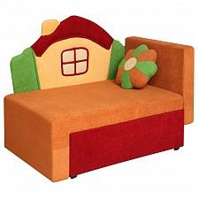 Диван-кровать Соната М11-1 Домик 8001127 красный/оранжевый