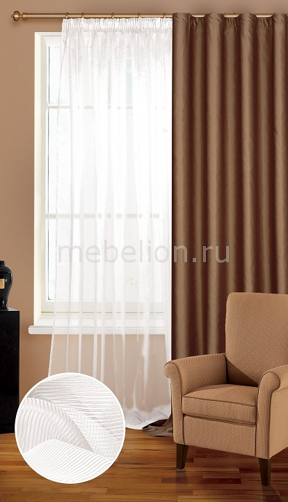 Гардина Garden (300х260 см) 1 шт. C W 1741 развивающий коврик biba toys happy garden 100 100 см gd053