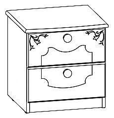 Мебель-Неман Орхидея СП-002-16 ольха