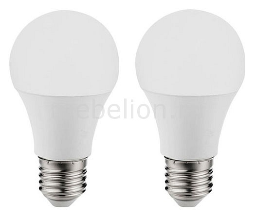 Комплект из 2 ламп светодиодных Eglo A60 Valuepack E27 60Вт 4000K 11486 комплект из 2 ламп светодиодных eglo g9 3вт 220в 4000k 11675