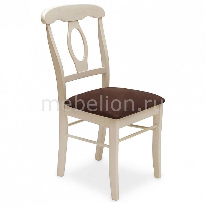 Стул Tetchair Napoleon белый античный/темно-коричневый tetchair стул компьютерный step
