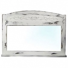 Зеркало настенное Акита (85х60 см) С полкой Z25