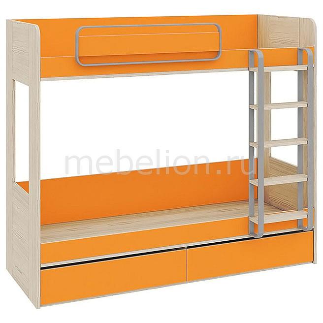 Кровать двухъярусная Аватар СМ-201.01.001 каттхилт/манго mebelion.ru 22990.000