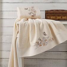 Набор из 2 полотенец для ванной Eva