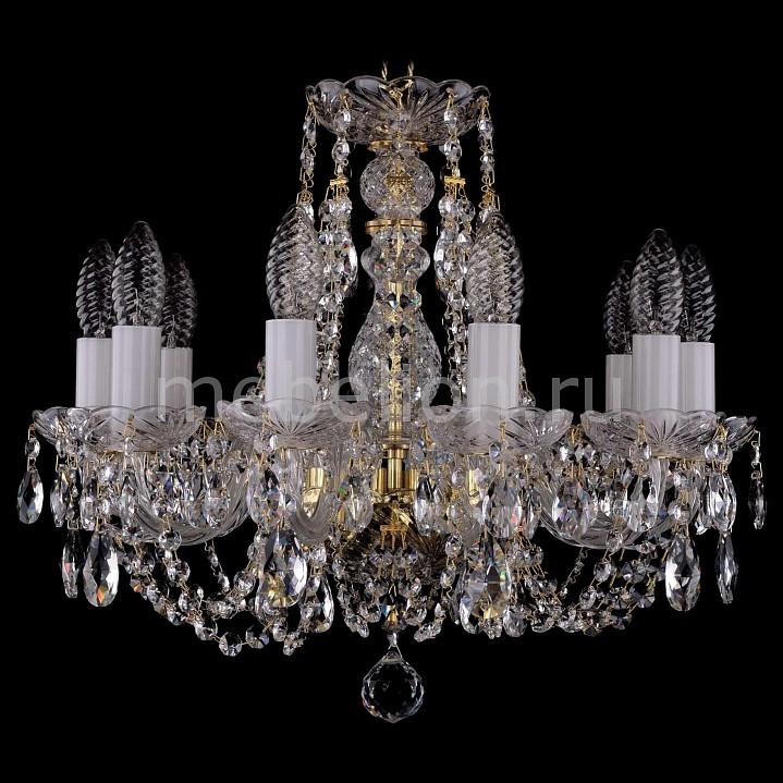 Подвесная люстра Bohemia Ivele Crystal 1406/10/141/G 1406
