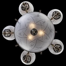 Подвесная люстра Eurosvet 60006/8 античная бронза 60008