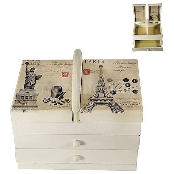 Шкатулка для украшений Акита (22х14 см) Прованс-AKI HL288 шкатулка для украшений акита 12х8 5 см прованс aki hl227c