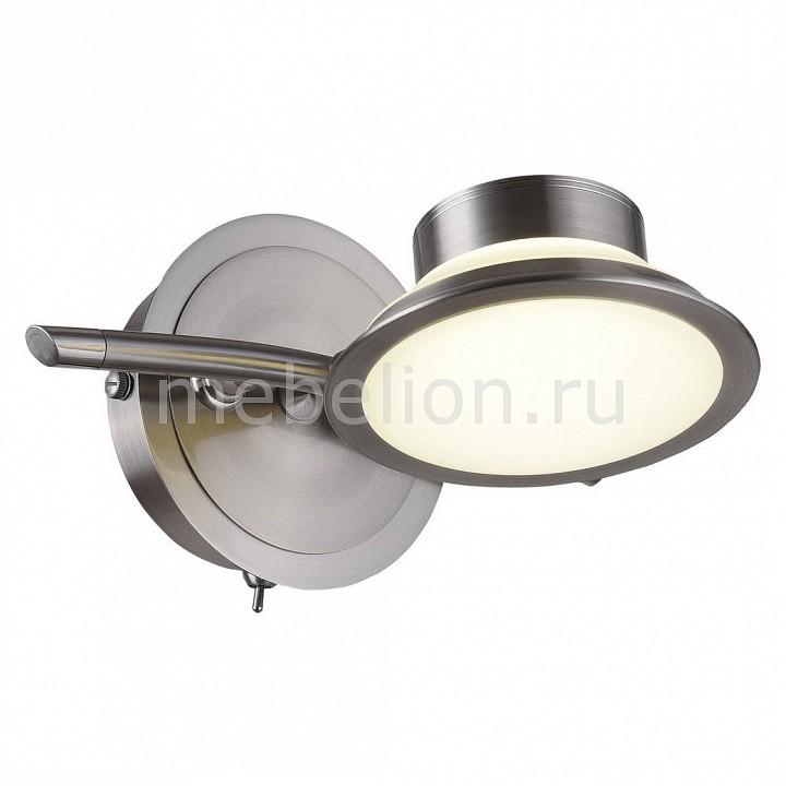 Бра IDLamp Simonta 104/1A-LEDWhitechrome светильник спот id lamp simonta 104 1a ledwhitechrome
