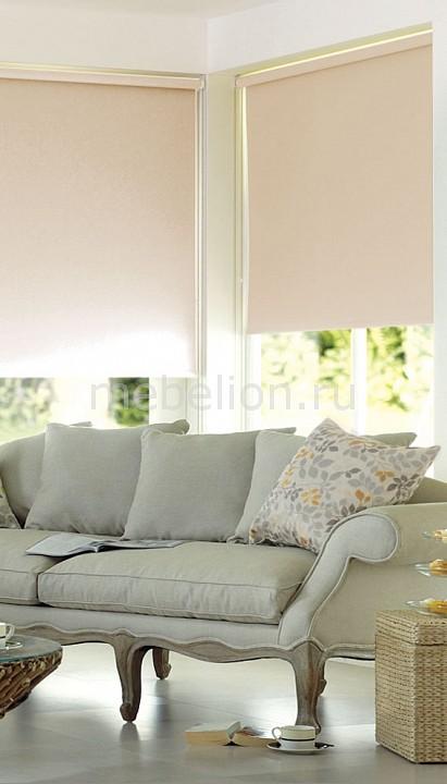 Купить Рулонная штора (50х170 см) 1 шт. ASMIRA 1, Garden, Россия, бежевый, полиэстер 100%
