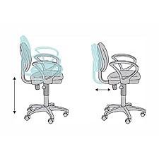 Кресло компьютерное CH-318AXN серое