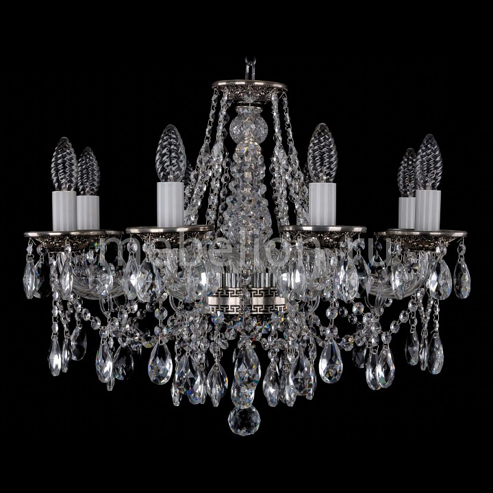 Подвесная люстра Bohemia Ivele Crystal 1613/8/200/NB 1613