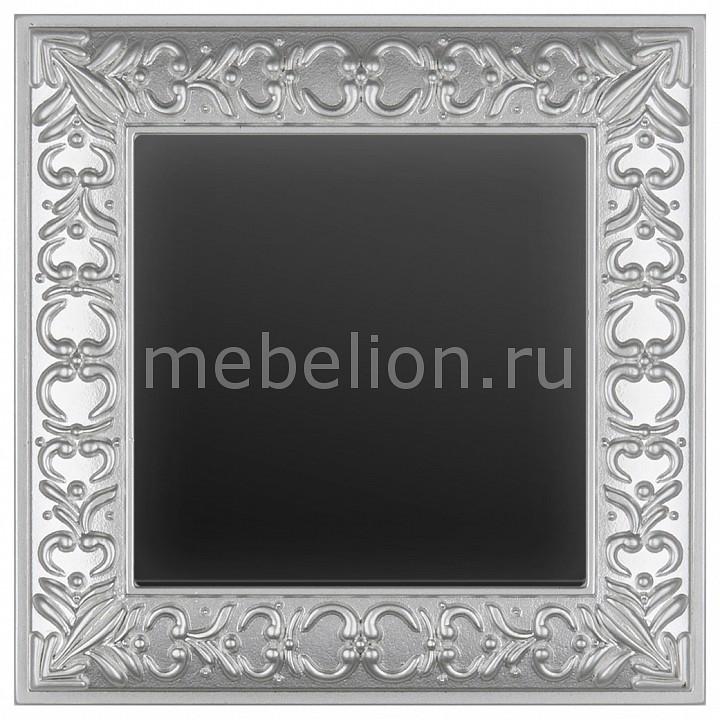 Выключатель перекрестной одноклавишный Werkel Antik (Черный матовый) WL08-SW-1G-2W+WL08-SW-1G-C выключатель перекрестной одноклавишный werkel без рамки aluminium черный матовый wl08 sw 1g 2w wl08 sw 1g c