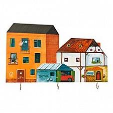 Ключница (35х22 см) Дома 28-307