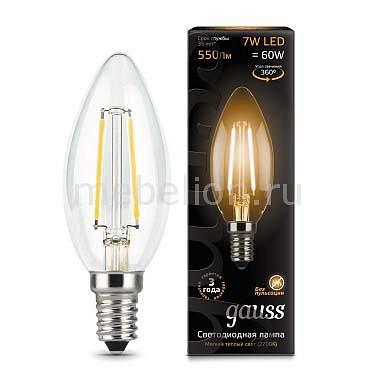 Лампа светодиодная Gauss 1038 E14 150-265В 7Вт 2700K 103801107