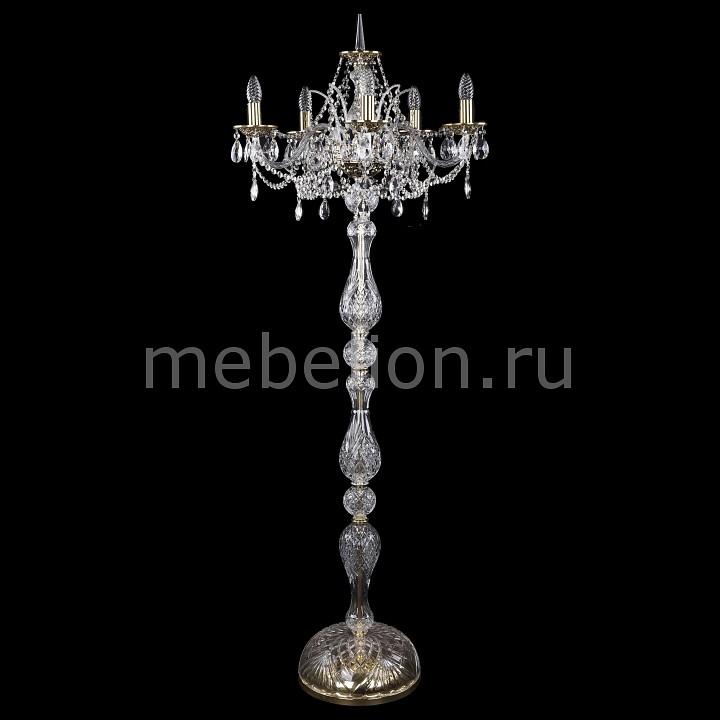 Торшер Bohemia Ivele Crystal 5211/5/195-160/GB bohemia ivele crystal торшер bohemia ivele crystal 5211 5 195 160 gb