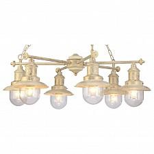 Подвесная люстра Arte Lamp A4524LM-6WG Sailor
