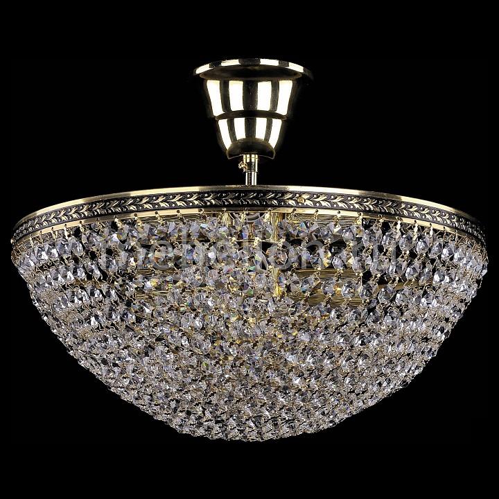 Люстра на штанге Bohemia Ivele Crystal 1932/35/Z/GB 1932