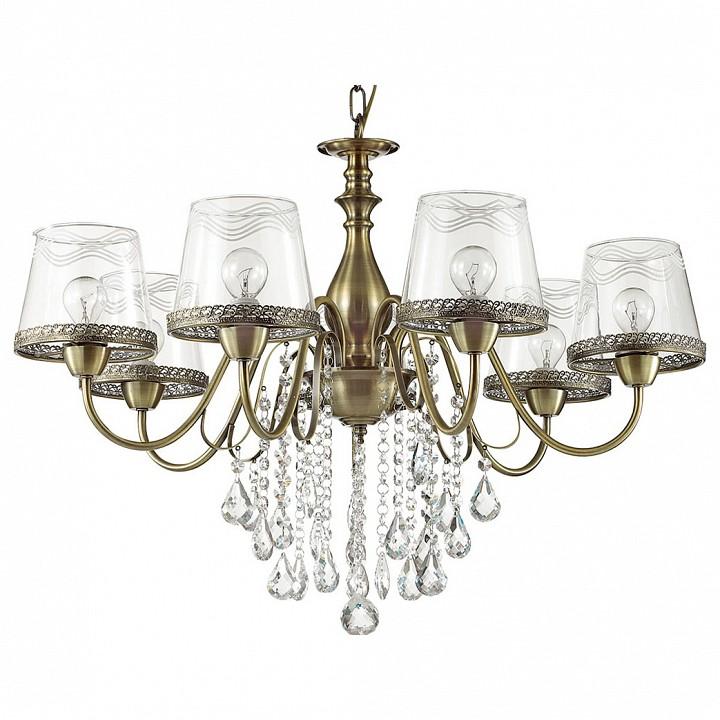 Подвесная люстра Odeon Light Sebastina 3467/7 odeon light 3467 5 odl17 000 бронза стекло метал декор хрусталь люстра e14 5 60w 220v sebastina