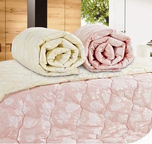 Одеяло евростандарт стеганное Бамбук бежевый AR_F0002653