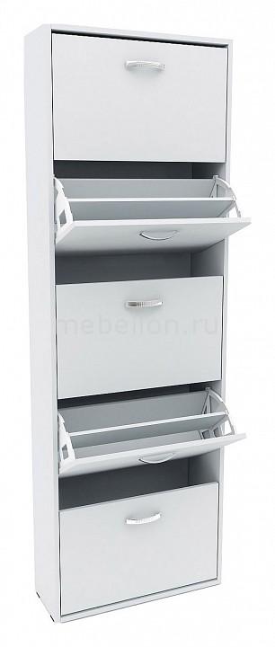 Шкаф для обуви МФ Мастер Милан-28 шкаф для обуви мф мастер милан 29 ко 2х2 фо 4 зсо 2х2