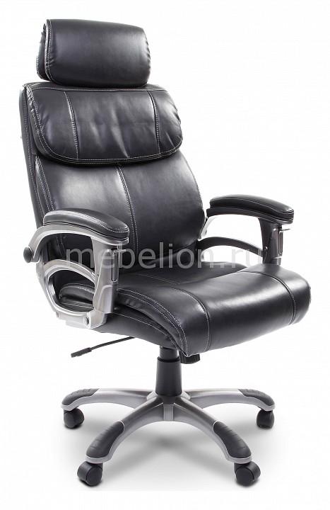 Кресло для руководителя Chairman 433 серый/серый, черный