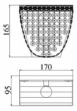 Накладной светильник Maytoni M583-WB1-N Quadrato